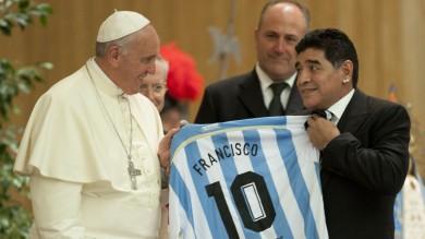 """Partita per la Pace, l'appello del Papa  """"Religioni mai strumento d'odio""""   foto"""