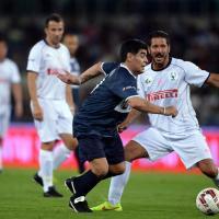 Partita della Pace, da Maradona a Baggio: spettacolo all'Olimpico