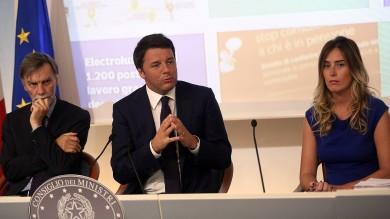 """Renzi: """"Basta rendite di posizione""""   video"""