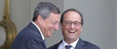 Euro debole, ultima carta di super-Mario   Mercati cauti, euro giù verso il dollaro