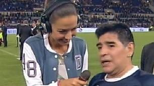 Partita della pace,  ira Maradona   ''Icardi non doveva giocare''   E denuncia  M5s  di Roma