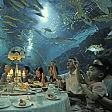 I pesci non sono nel piatto Tutti a cena nell'acquario