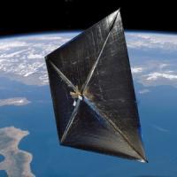 Le navi spaziali saranno a vela. Viaggeranno spinte dal vento delle stelle