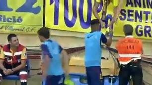 Riscaldamento con autografo   multa da 6mila euro per Neymar