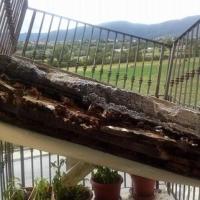 L'Aquila, crolla un balcone del progetto Case: tragedia sfiorata