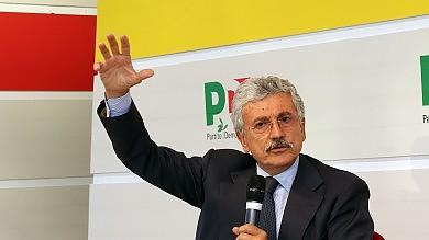 """Festa Unità, D'Alema attacca Renzi   video   """"Dal governo sforzi insoddisfacenti"""""""