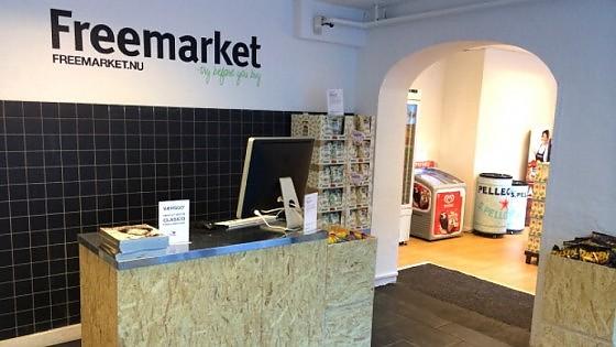 In Danimarca c'è un negozio dove si compra senza pagare