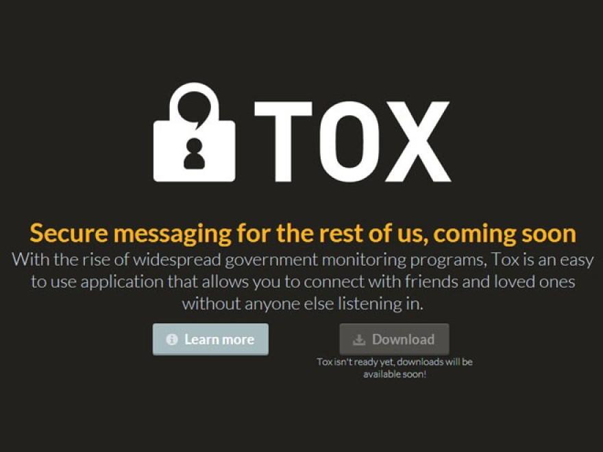 Tox, la comunicazione online open source