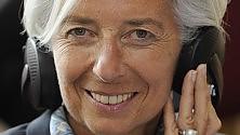 """Lagarde: """"Avanti con tagli alla spesa, in Europa  non c'è austerity"""""""