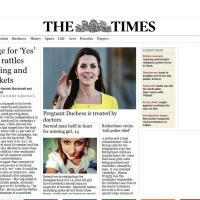 Gb, Kate incinta del secondo figlio: la notizia sui siti stranieri