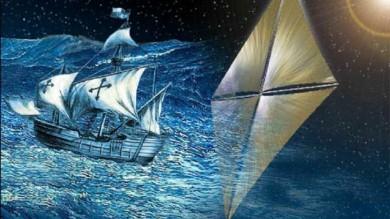 Navi spaziali saranno a vela   Video   /   Foto   Viaggeranno spinte dal vento delle stelle