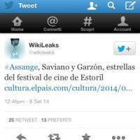 Al festival del cinema di Lisbona e Estoril le vite difficili di Saviano, Assange e...