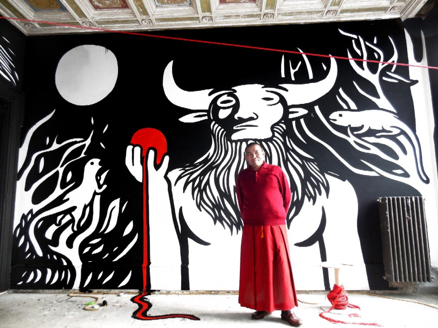 Grognards abruzzo il mito di pandora un murales for Mito vaso di pandora