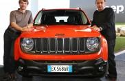 Sergio Marchionne e Mike Manley alla presentazione della Jeep