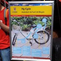 La prima bici a idrogeno made in Australia