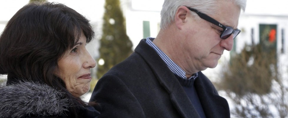 I genitori del reporter decapitato dall'Is, Diane e John Foley - 133912135-8098a429-7557-4e72-a7f0-01032d887774