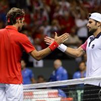 Tennis, Davis: Bolelli e Fognini ko, Svizzera-Italia 2-0