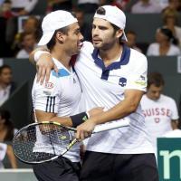 Tennis, per l'Italia di Davis ancora una speranza