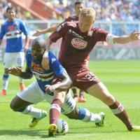 Sampdoria-Torino, il film della partita