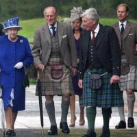 Referendum in Scozia, il principe Filippo indossa il kilt