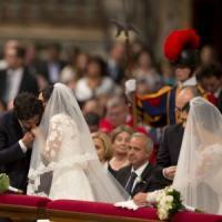 """Lui, lei e il figlio avuto da un altro: """"Non ci aspettavamo che il Papa scegliesse noi"""""""