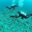 Cimitero degli pneumatici 700mila in fondo al mare