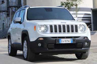 """Jeep in forze alla """"Fiera del Levante"""""""