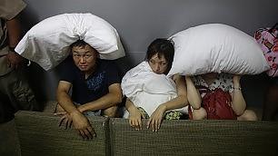 Uragano in Messico gli sfollati nei resort