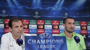 "Juve apre Champions  Allegri: ""Noi ci puntiamo"""