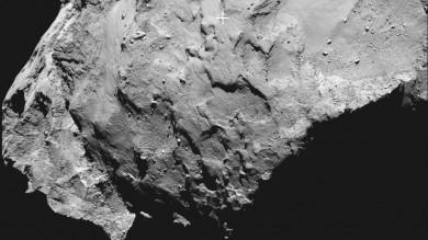 """Rosetta, scelto il luogo della cometa  sul quale si poserà la sonda """"Philae"""""""