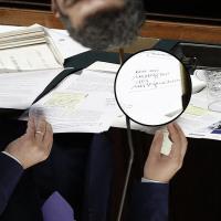 """Gli appunti di Renzi: """"Non mi rassegno...."""""""
