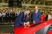 Opel Mokka inizia la produzione a Saragozza
