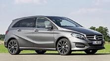 Mercedes Classe B, famiglie più chic