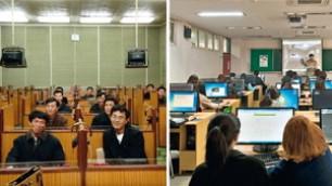 Le due Coree a confronto la differenza è nel fotoprogetto