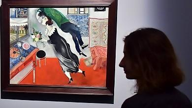 Il colore e il mistero di Chagall A Milano la retrospettiva show   foto