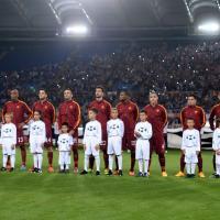 Roma-Cska Mosca, il film della partita