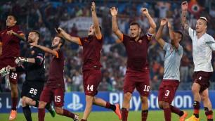 Festa giallorossa -   foto   Roma batte Cska 5-1