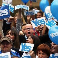 """Biagi: """"Mio nonno emigrò qui in Scozia, ora sono un deputato e sogno la secessione"""""""