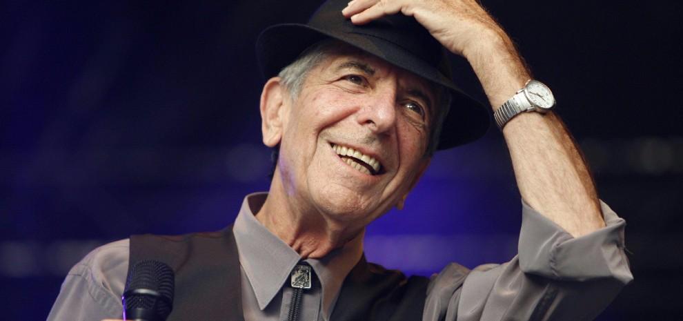 """Leonard Cohen: """"Faccio politica cantando le paure che abbiamo tutti"""""""