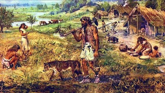 Risultati immagini per uomo primitivo mangia verdure