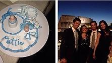 Manuela Arcuri, su Instagram il battesimo del piccolo Mattia