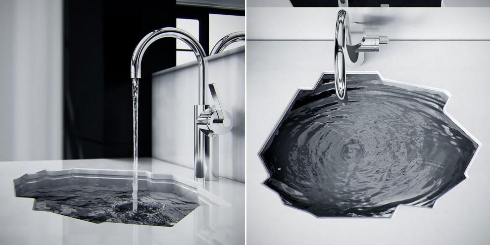 Dalla vasca-amaca al tappeto di prato: il design entra in bagno - Repubblica.it