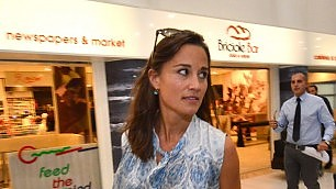 Bari come Buckingham Palace Pippa e Harry ospiti alle nozze    video