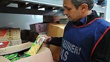 Alimenti contraffatti: sequestri per 32 milioni