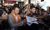 Del Piero è arrivato in India ''Non vedo l'ora di iniziare''