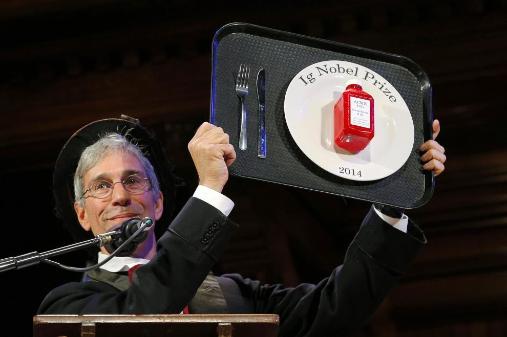 IgNobel 2014, i premi alla scienza più assurda