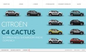 Citroën C4 Cactus, sul web senza segreti