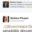 """Scontro tra Vespa e Pisapia """"Bimbi non dovrebbero  dormire alla stazione"""" """"E allora vieni tu sul campo"""""""