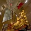 Rinasce la ''Barca sublime'' la nave gioiello dei Savoia