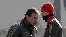 """Allegri: """"Non sarà una partita come le altre""""   Inzaghi : """"90' perfetti""""   di T. ORMEZZANO e S. SCACCHI"""